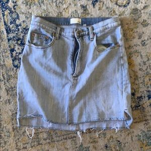 Aritzia Wilfred Jean skirt size 8